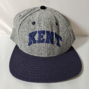 Kent State University Gray Flannel Snapback Hat